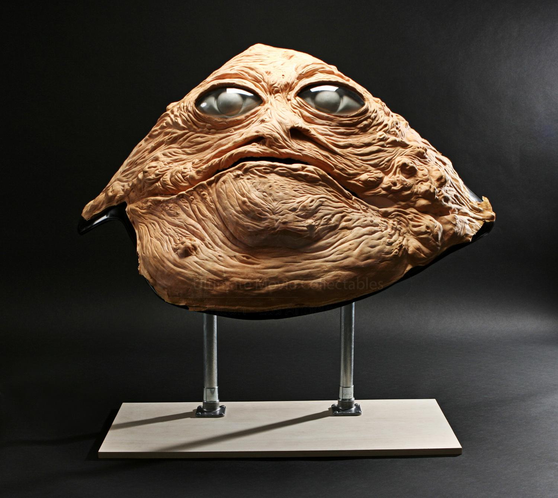 Original Jabba the Hutt Full Size Puppet Face Display ... Jabba The Hutt