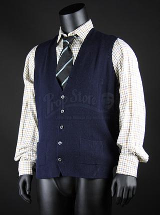 Sir Leigh Teabing Ian Mckellen Shirt Tie And Waistcoat