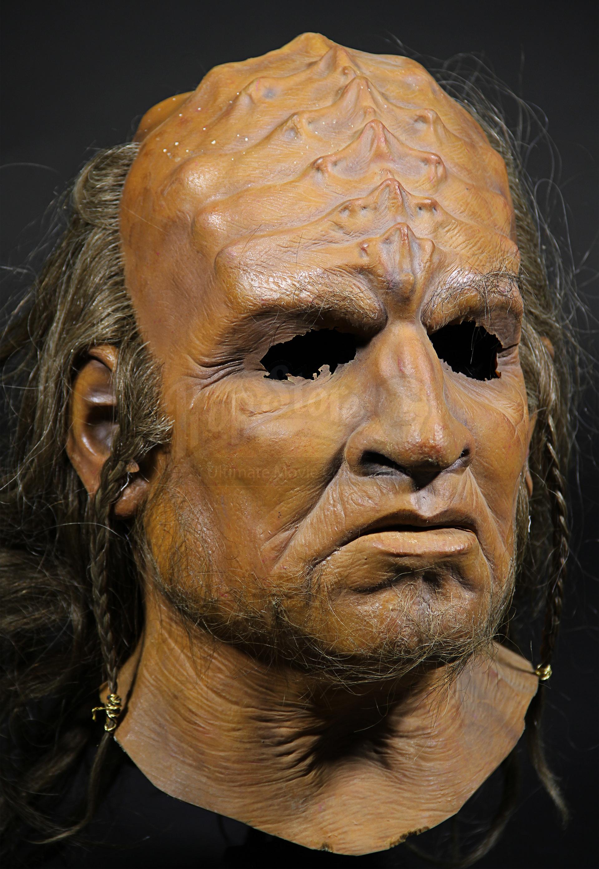 Full Head Klingon Mask Prop Store Ultimate Movie