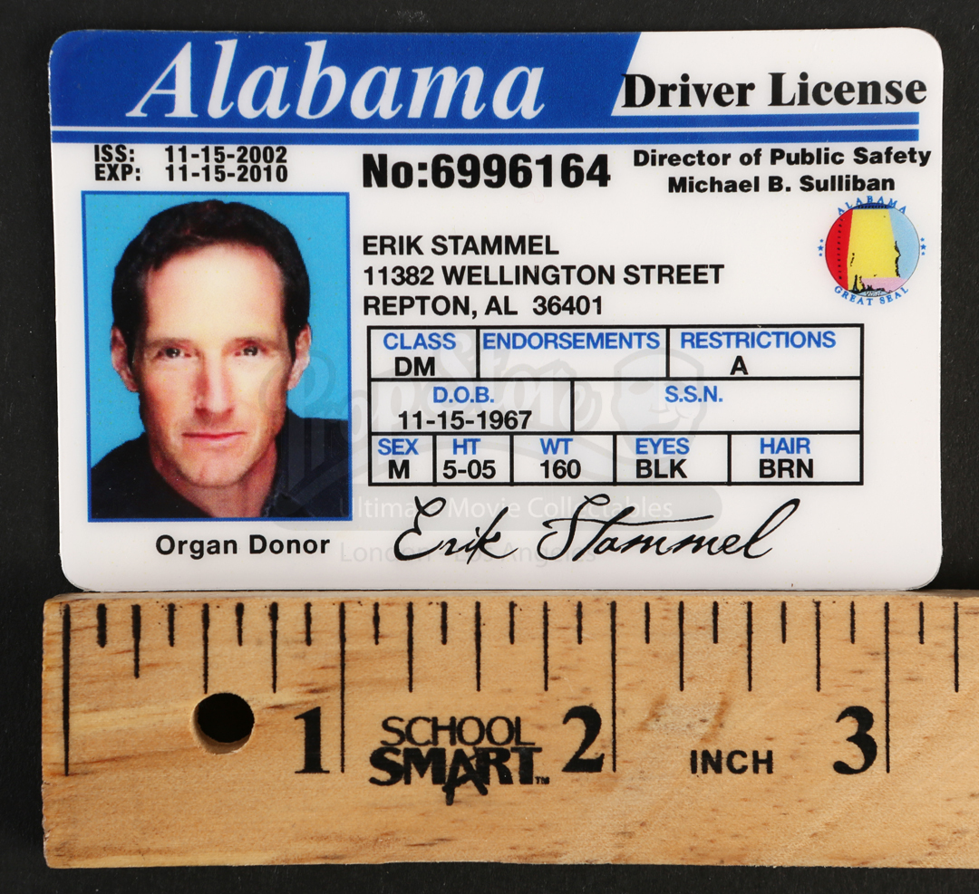 Erik stammels taylor nichols alabama state drivers for Alabama state fishing license