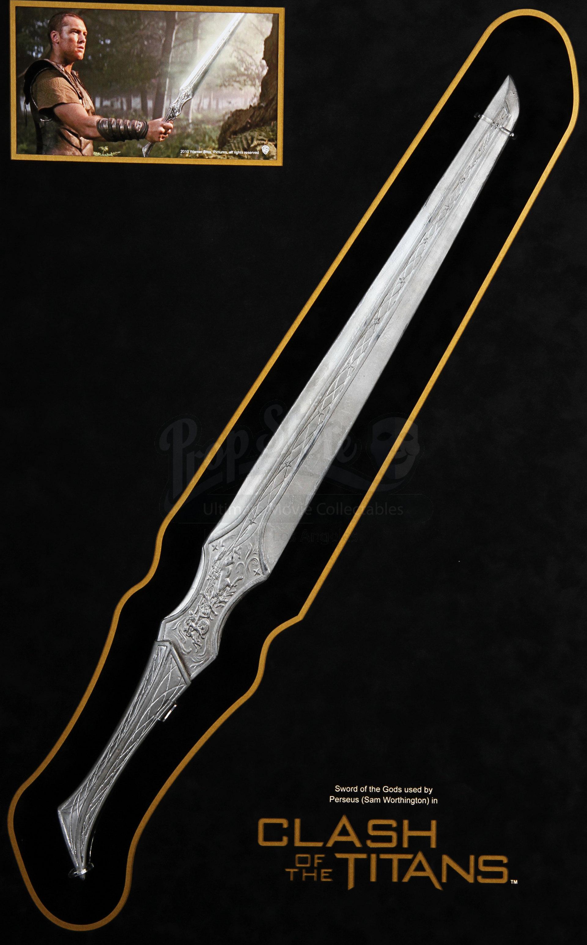Perseus (Sam Worthington) Stunt Sword Display | Prop Store ...