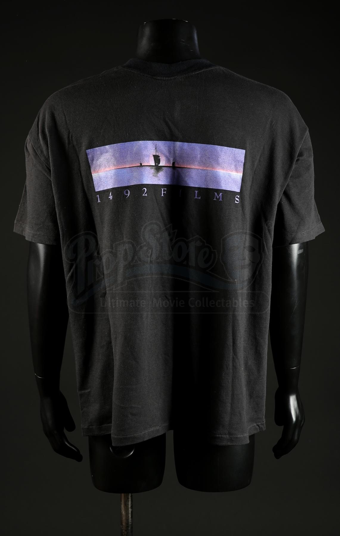 Lot 100 Greg Cannom Auction Crew T Shirt Prop Store