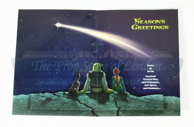 Seasons Greetings Card | Prop Store - Ultimate Movie Collectables
