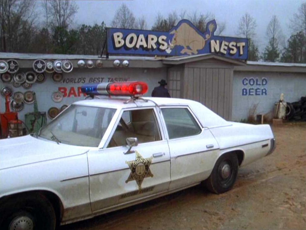 on Dukes Of Hazzard Police Car