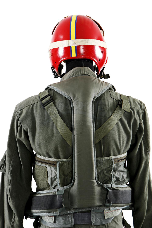 Randy Quaid Lesure Suit: Russell Casses (Randy Quaid) Flight Suit Costume