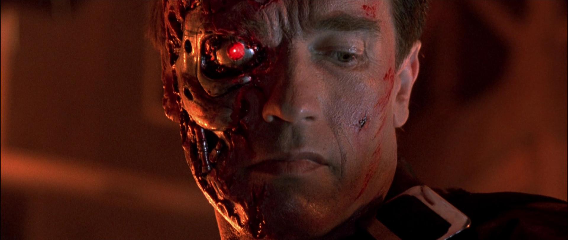 Terminator (Arnold Schwarzenegger) Facial Appliance   Prop ...