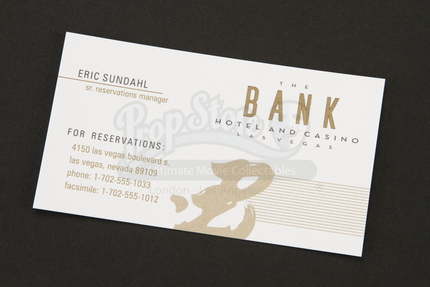 Bank hotel and casino sr reservations manager business card prop bank hotel and casino sr reservations manager business card prop store ultimate movie collectables colourmoves