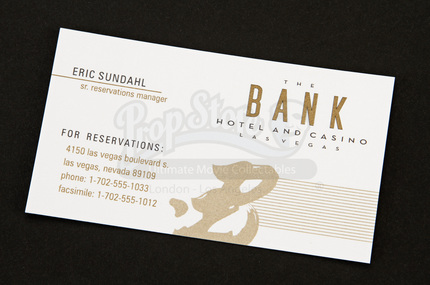 Bank hotel and casino concierge business card prop store bank hotel and casino concierge business card prop store ultimate movie collectables colourmoves