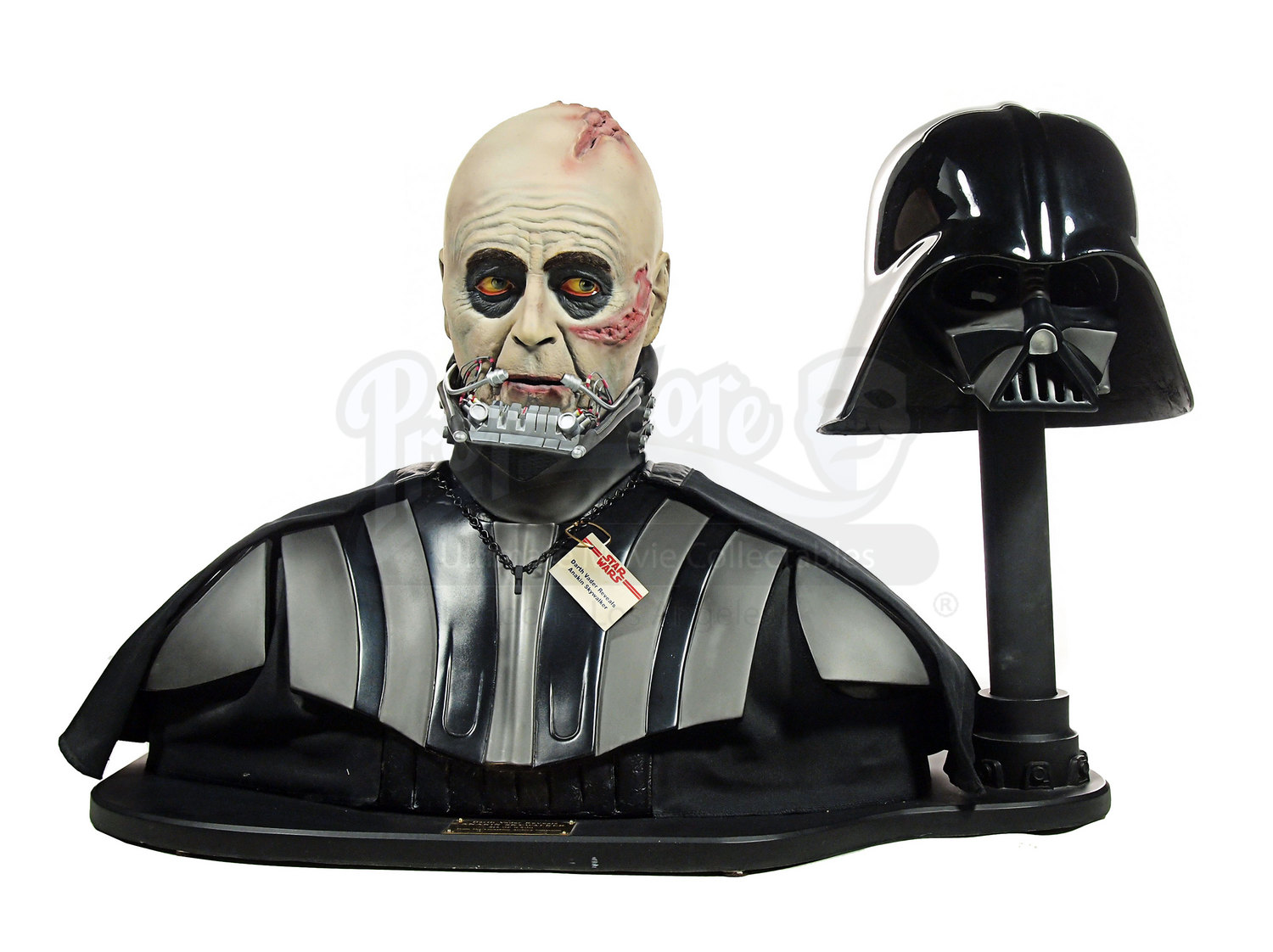 replica darth vader head and helmet set prop store. Black Bedroom Furniture Sets. Home Design Ideas