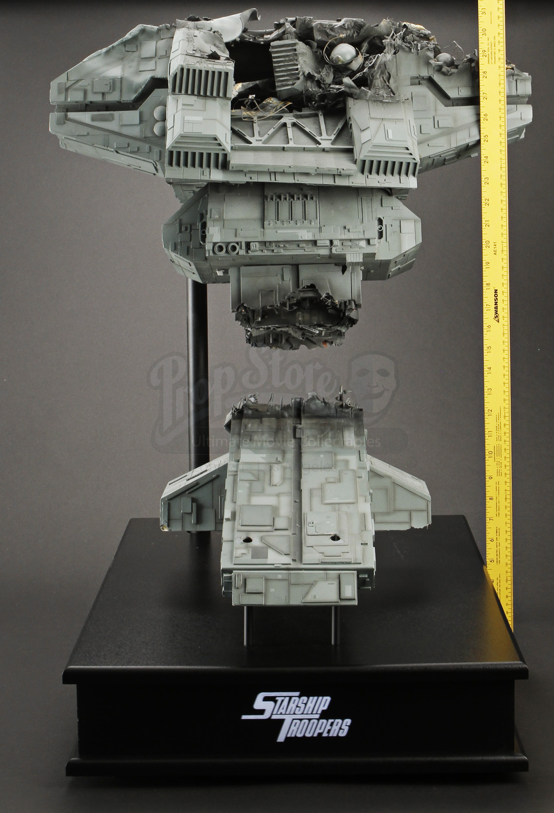 Battle Damaged Rodger Young Ship Tower Display Prop