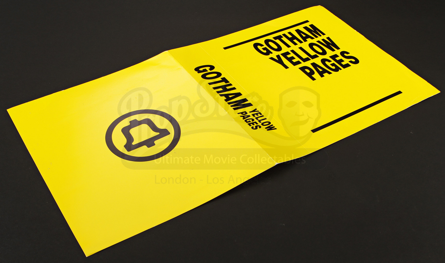 Gotham City Yellow Pages Cover | Prop Store - Ultimate Movie