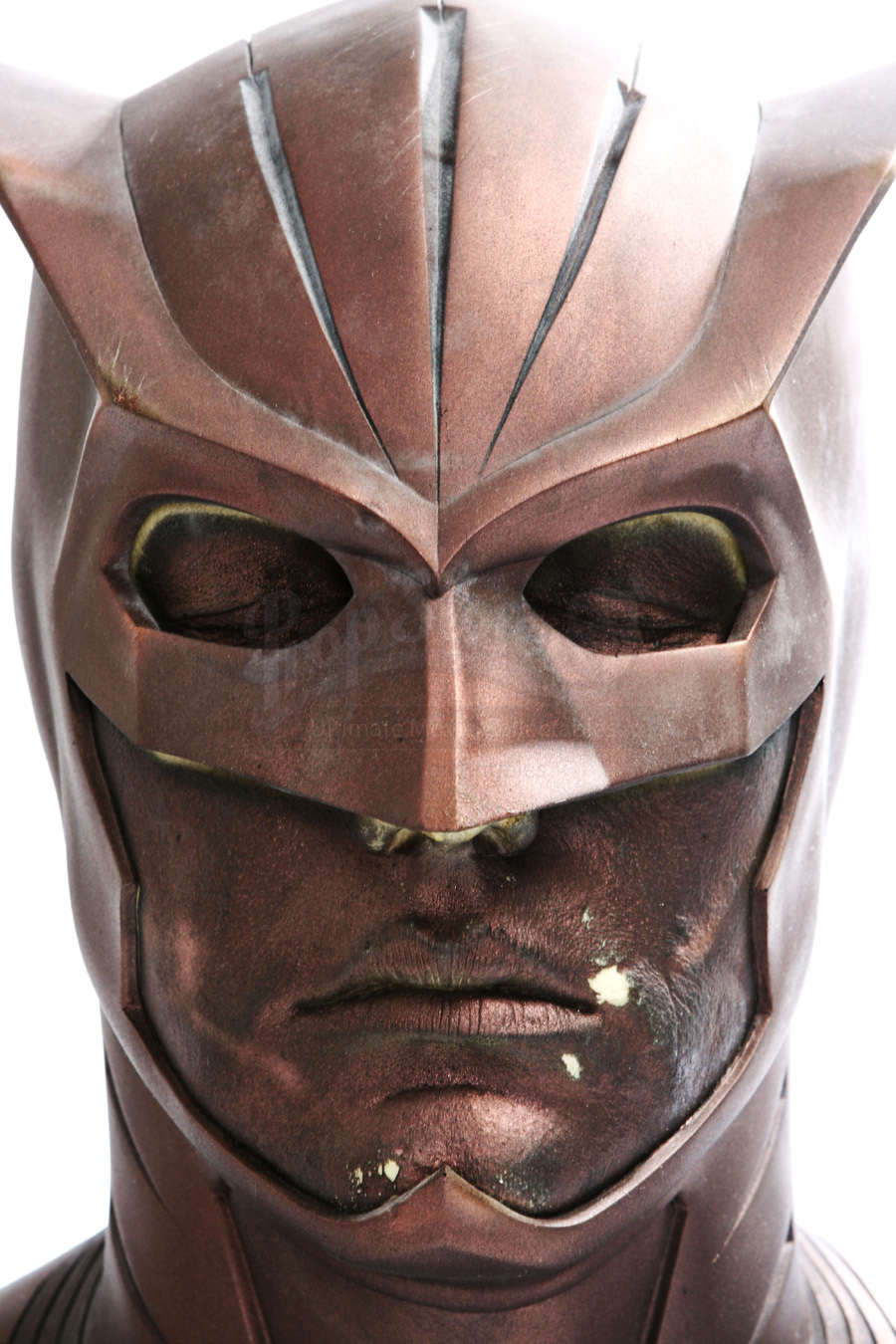 Nite owl test paint cowl prop store ultimate movie for Night owl paint color