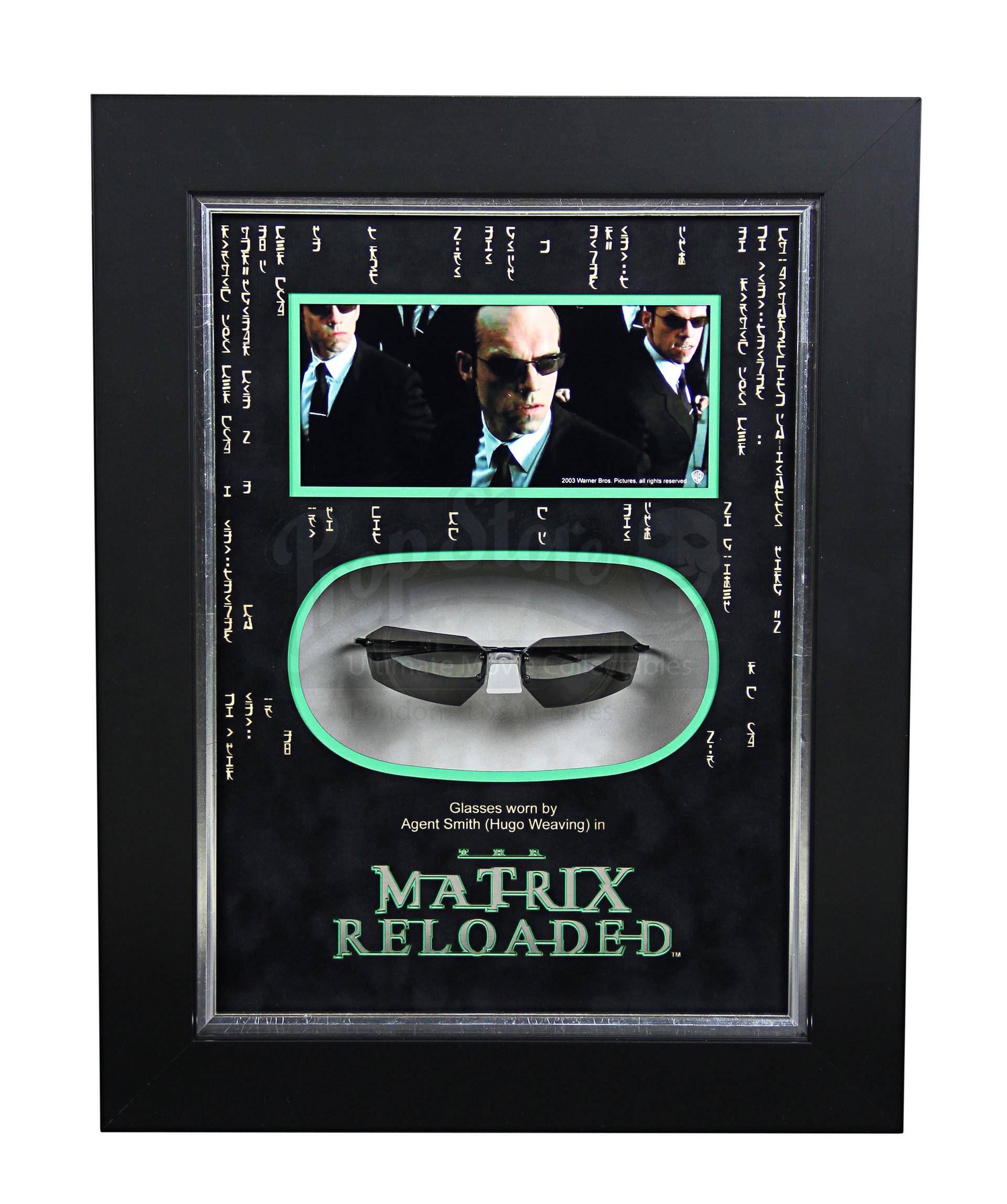 78f3e31e74b5 Agent Smith (Hugo Weaving) Glasses Display