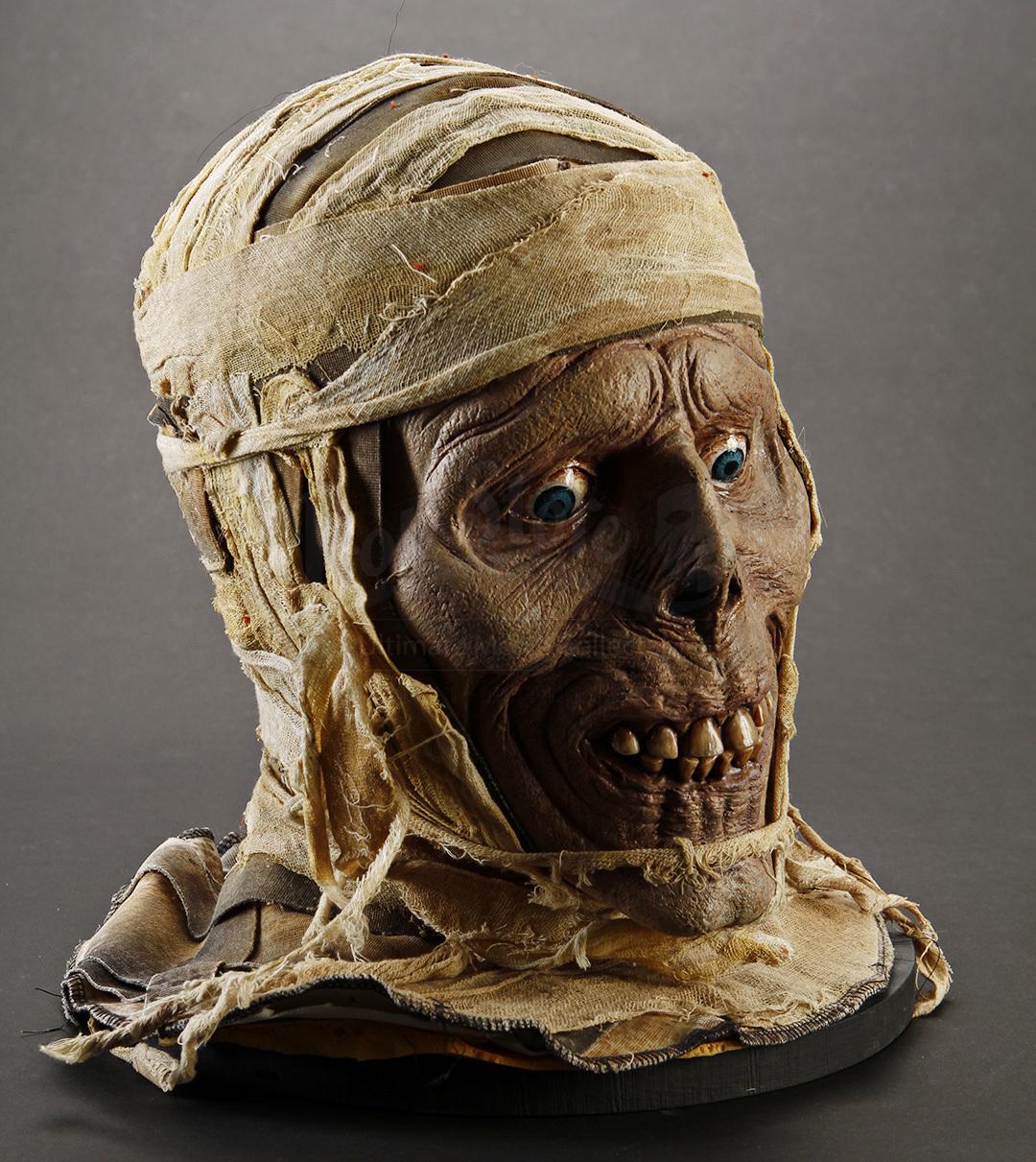 mummy head bust