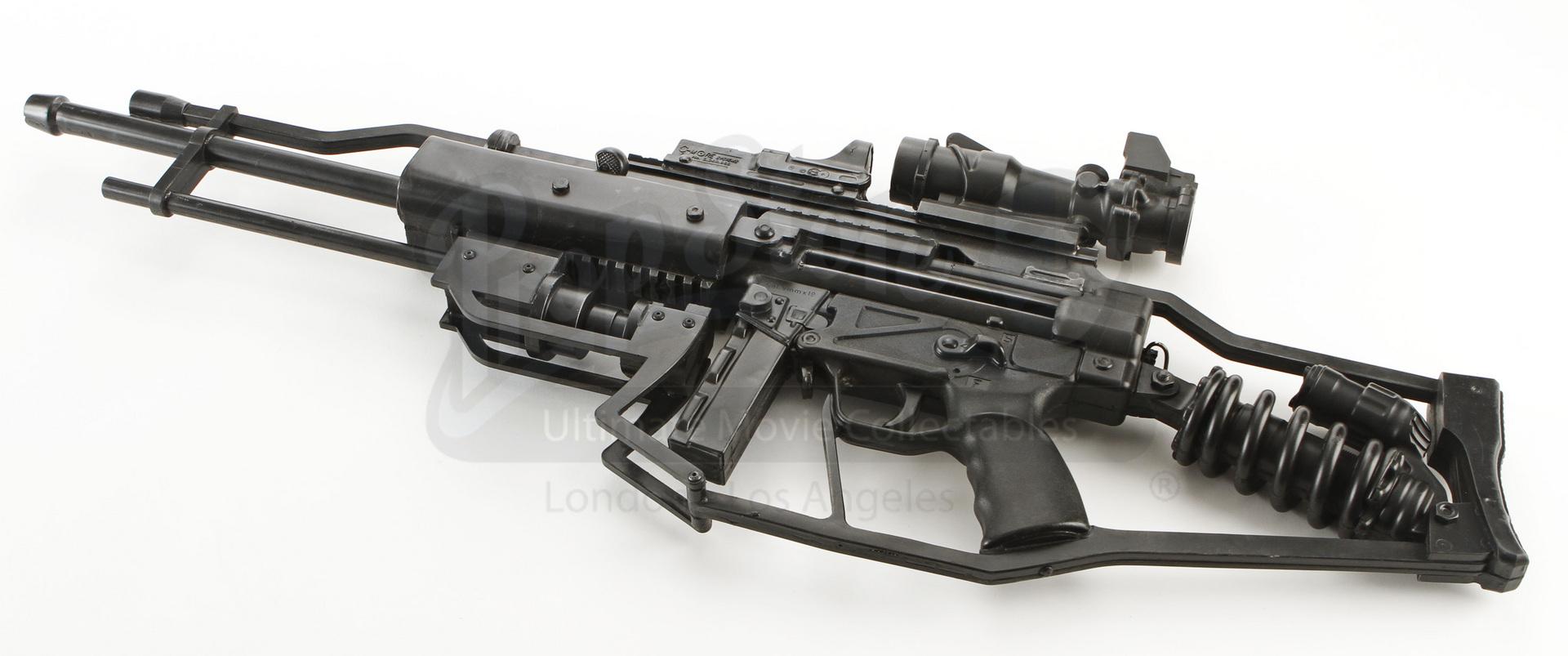 Scav Soldier Stunt Rifle 02 Prop Store Ultimate Movie