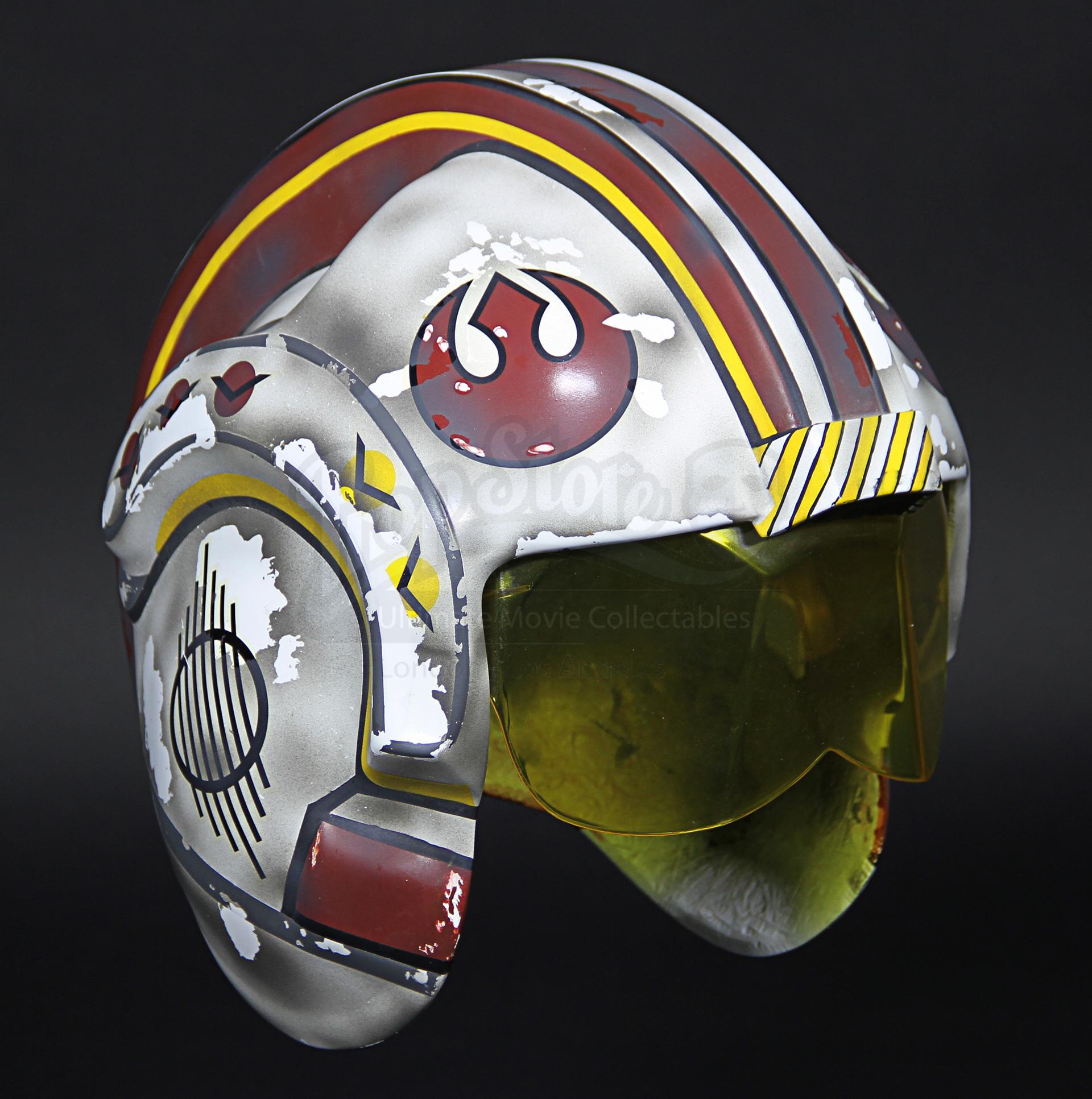 don post deluxe red 5 helmet
