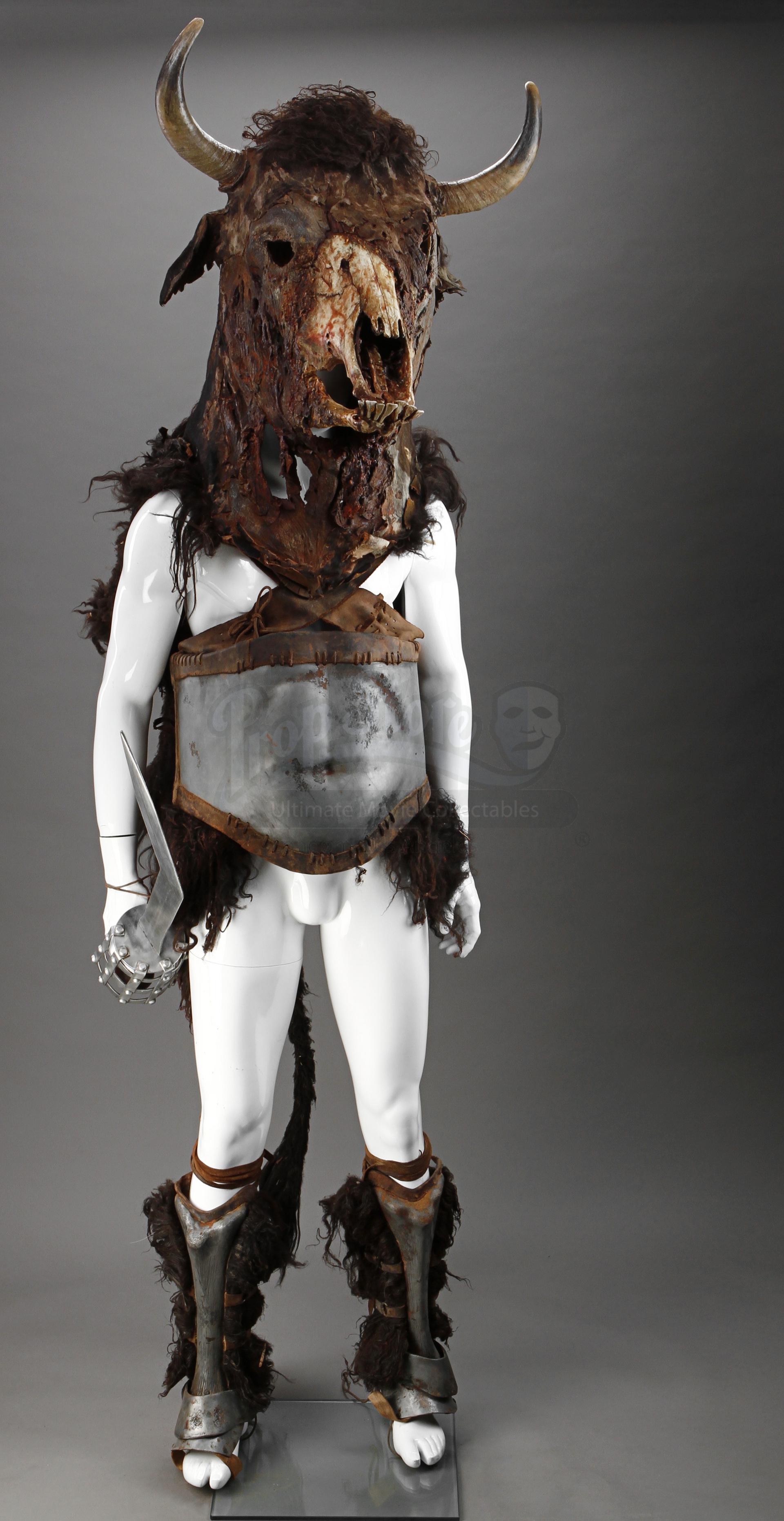 Gladiators Minotaur Costume Prop Store Ultimate Movie