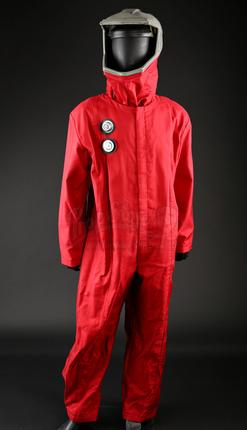 Harrys (Orlando Jones) Red Hazmat Suit   Prop Store - Ultimate Movie