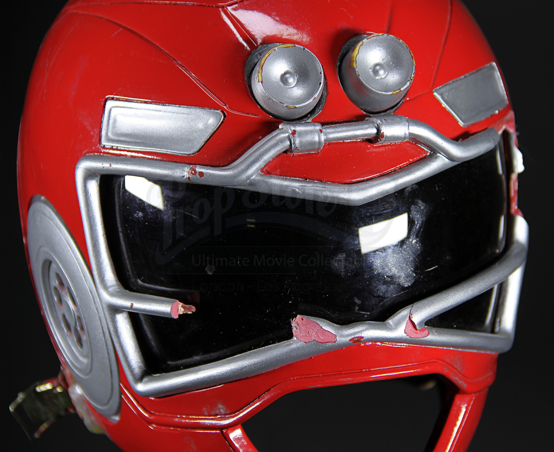 Red Turbo Ranger Helmet Prop Store - Ul...