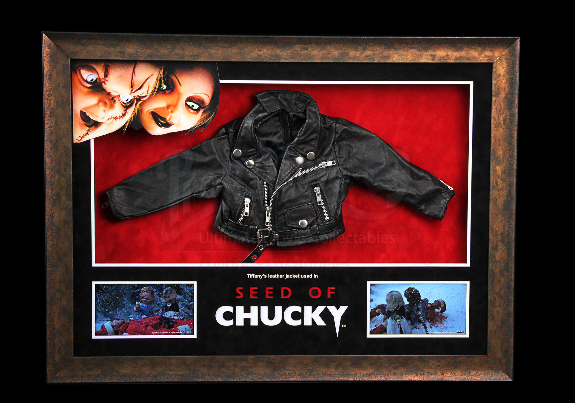 Tiffany Jennifer Tilly Biker Jacket Display Prop Store
