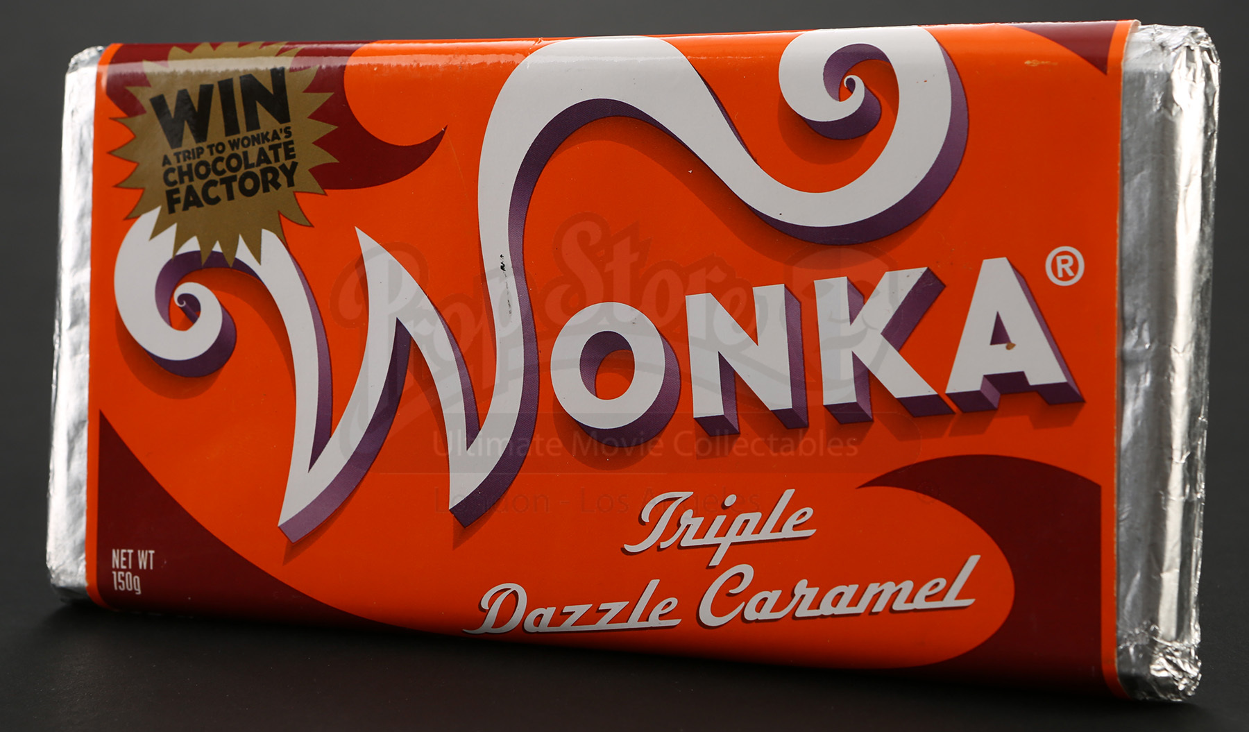 Wonka Bar - Triple Dazzle Caramel | Prop Store - Ultimate Movie ...