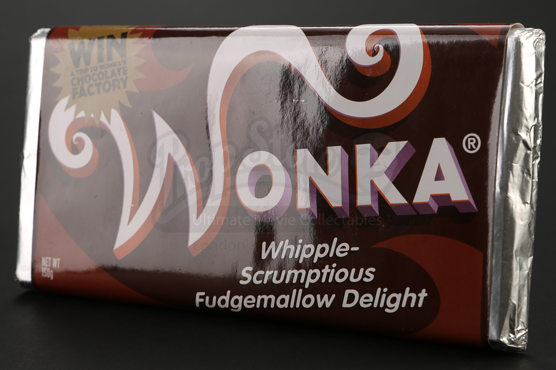 Wonka Bar Whipple Scrumptious Fudgemallow Delight Prop