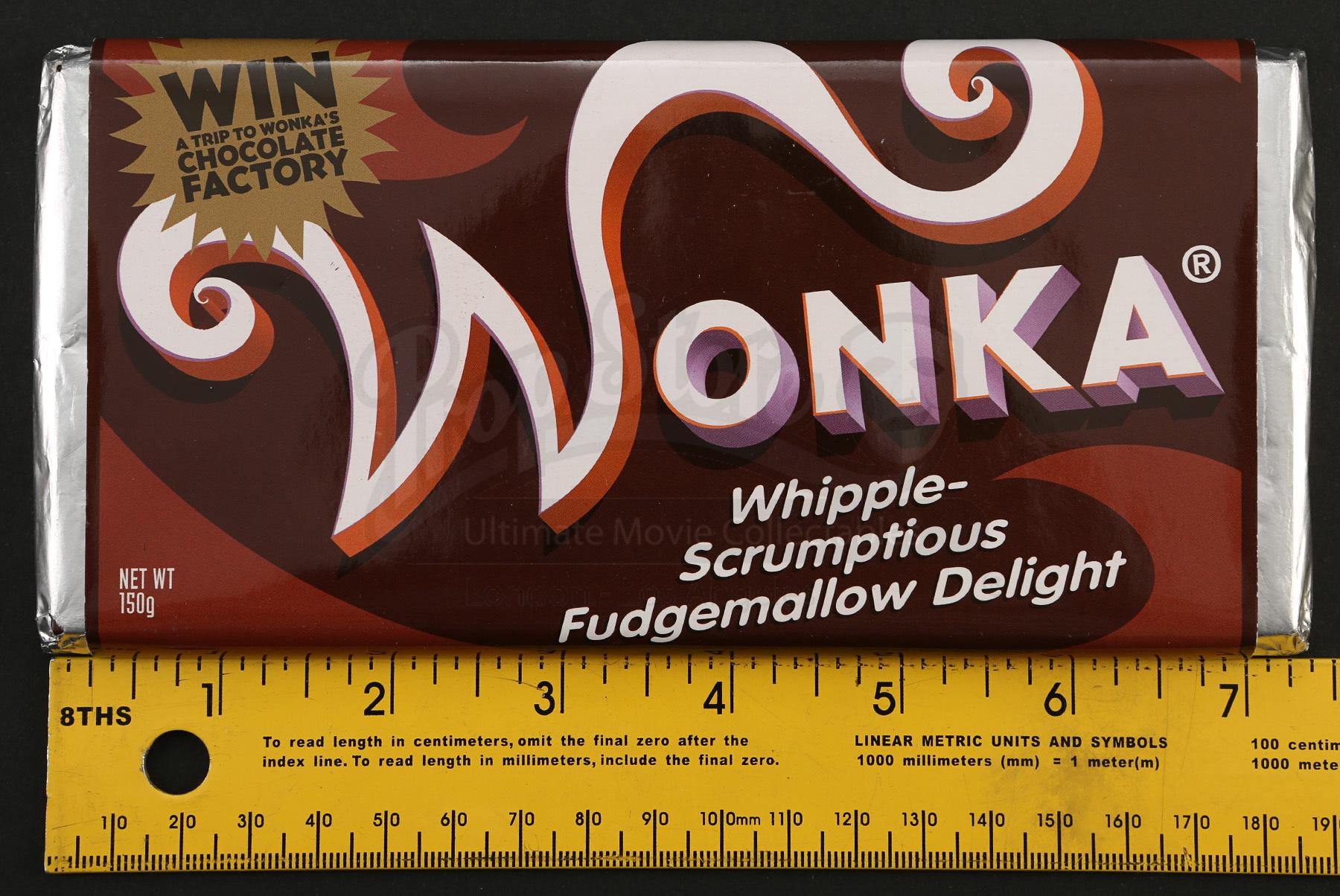 wonka bar whipplescrumptious fudgemallow delight prop