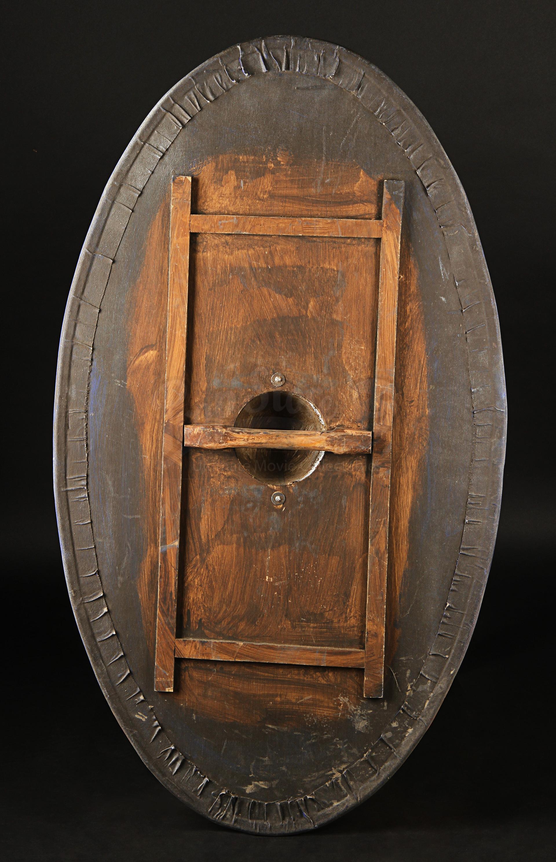 blue roman cavalry shield