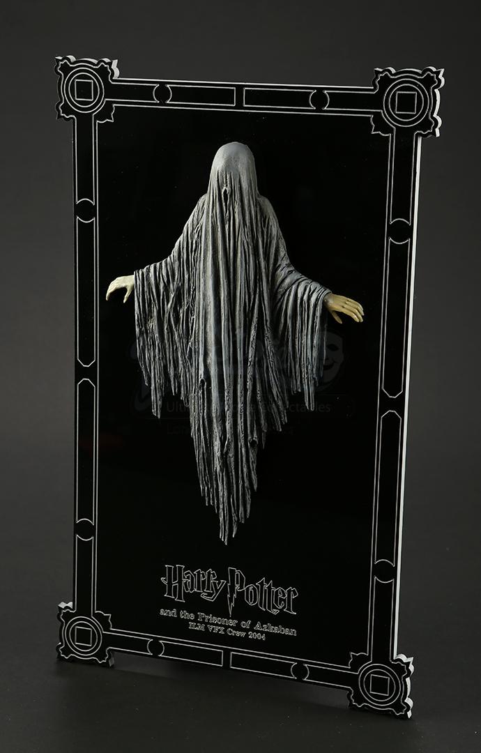 crew gift - ilm dementor plaque