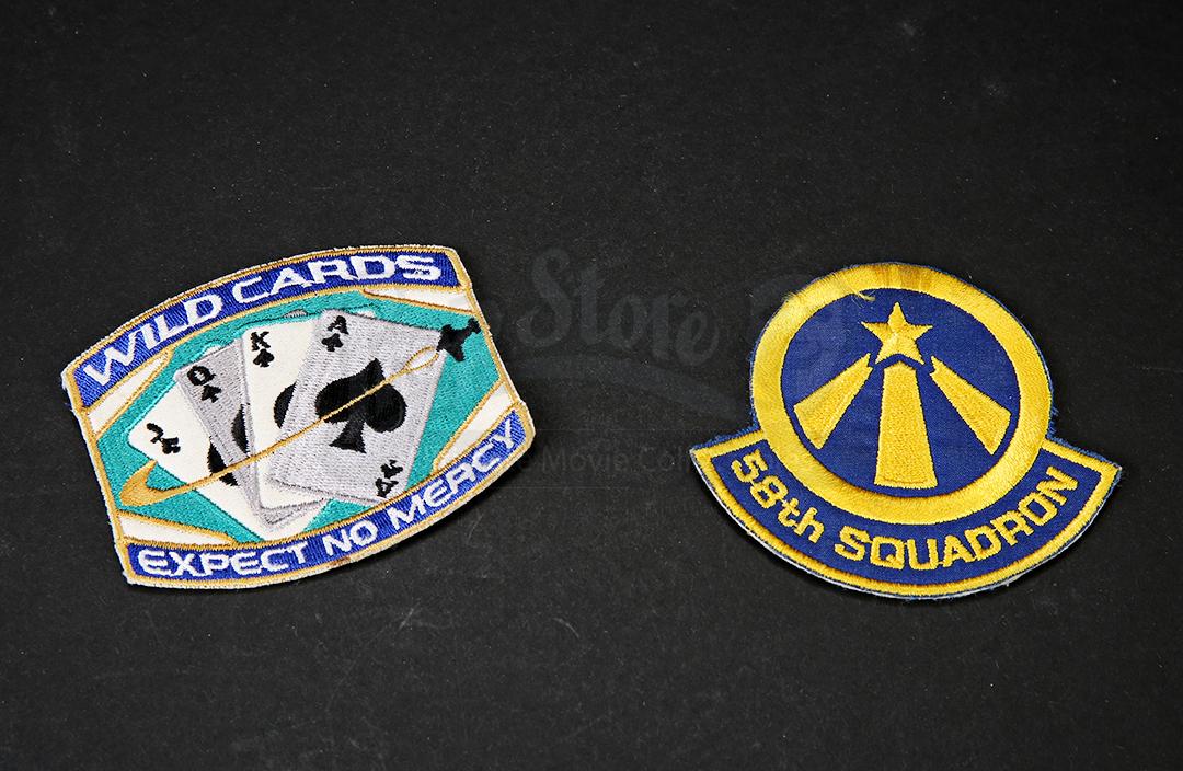 Space 2063 Patch Above /& Beyond 58th Squadron Logo Uniform Aufnäher