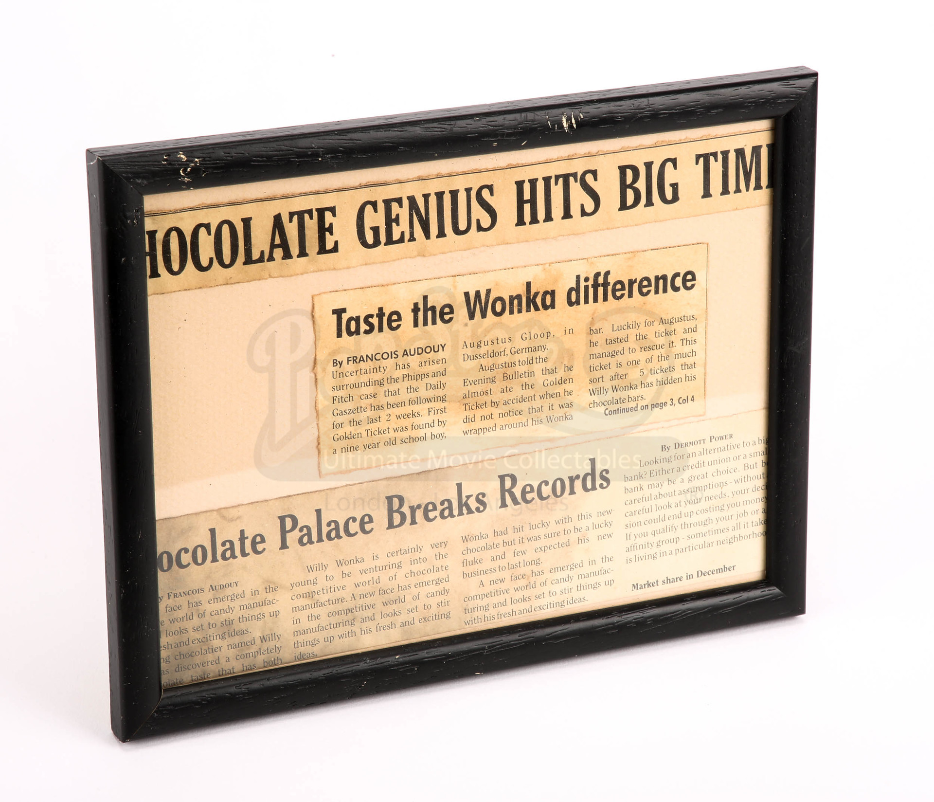 """Charlie And The Chocolate Factory. """"Chocolate Genius Hits Big ..."""