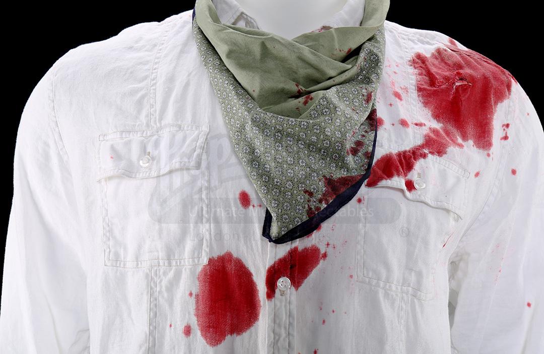 Richie Lanzs Bill Murray Gunshot Wound Costume Prop