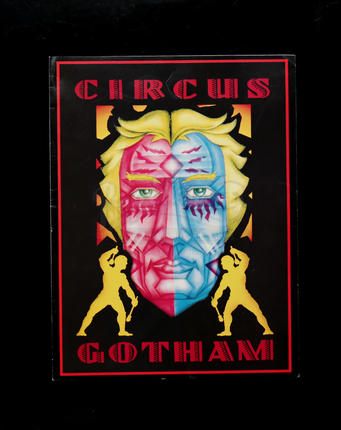 Circus Gotham Program | Prop Store - Ultimate Movie Collectables