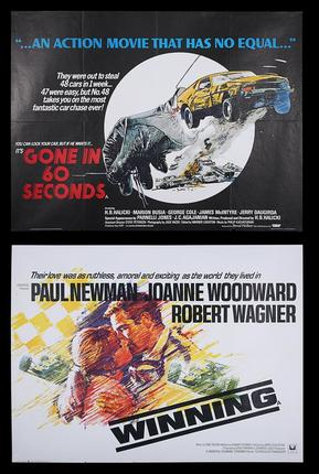Lot 6 - Cinema Poster Live Auction - Two UK Quad Posters