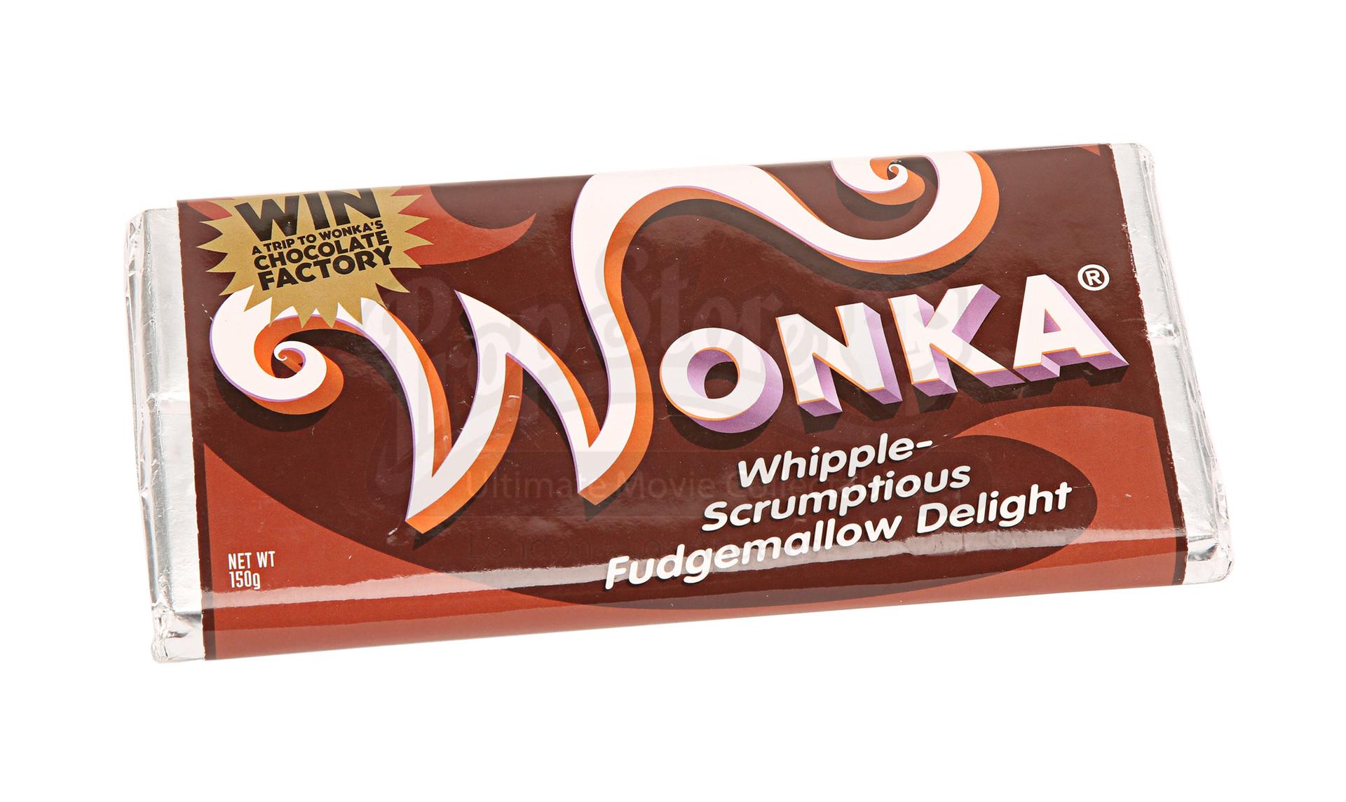 Wonka Whipple-Scrumptious Fudgemallow Delight Bar   Prop Store ...