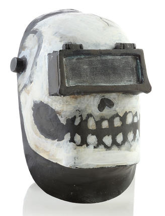 Wybie Robert Bailey Jr Welding Mask Paint Test Prop Store Ultimate Movie Collectables