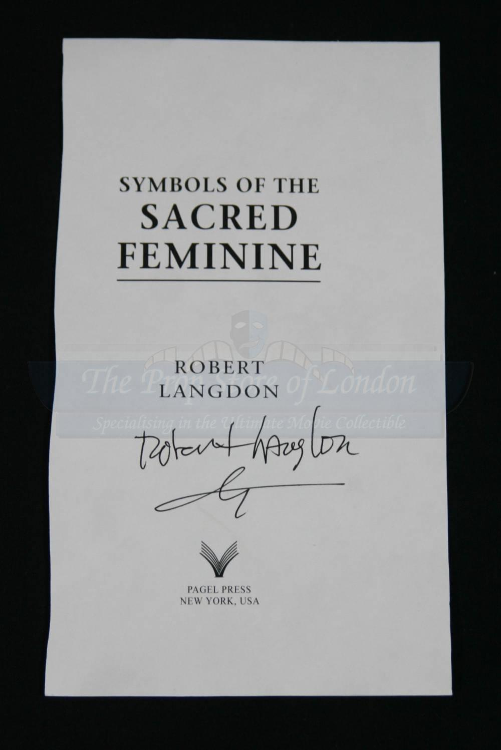 Symbols of the sacred feminine signed page and two interpol tweet biocorpaavc Images