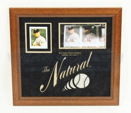 Roy Hobbs (Robert Redford) Single Baseball Card   Prop Store ...
