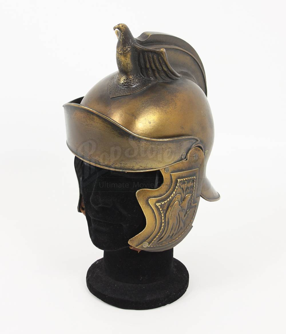 roman army cavalry helmet prop store ultimate movie collectables