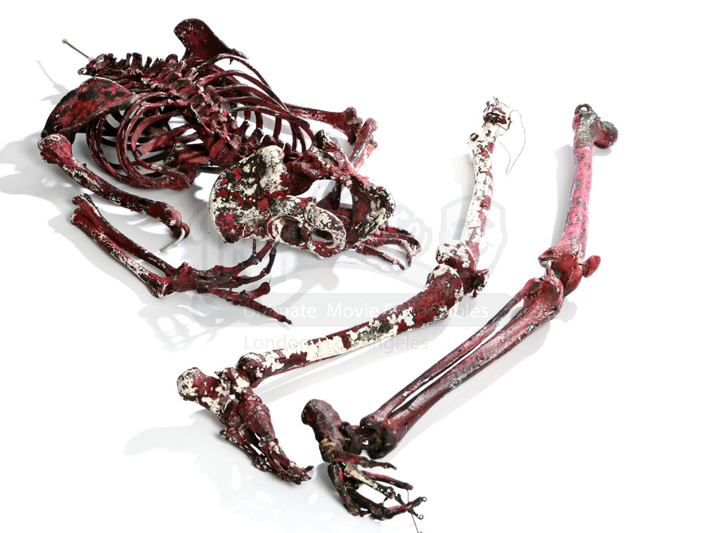 Incinerated Red Human Skeleton | Prop Store - Ultimate Movie ...