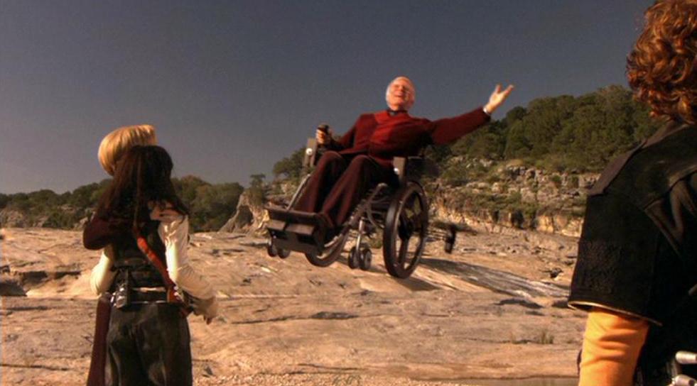 Grandfathers Ricardo Montalban Hero Copter Wheelchair